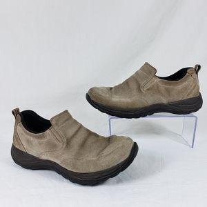 LL Bean suede comfort loafers walking sz 9